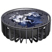 Load image into Gallery viewer, ibride- Medusa Outdoor Coffee Table Black with Sapphire Tray Large