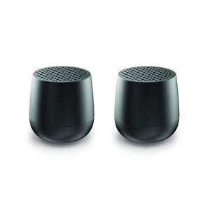Lexon Twin Mino Speaker Set- Black