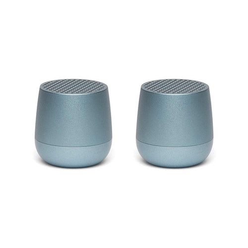 Lexon Twin Mino Speakers- Light Blue
