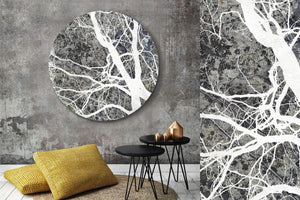 Branches 2 Round Acrylic Art Piece