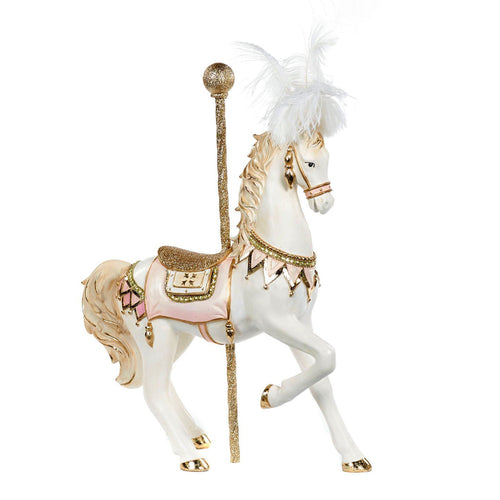 Christmas Carousel Horse Decoration