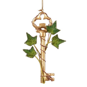 Christmas Ivy Leaf Key Ornament - 19cm