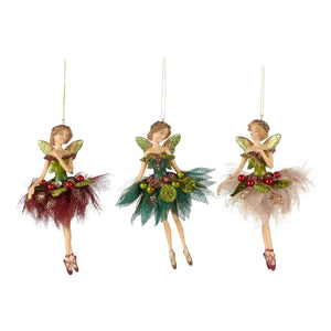 Christmas Tulle Fairy Ornament