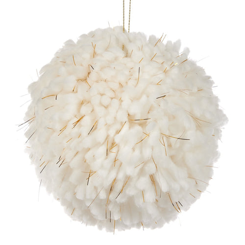 Christmas Wooly Thread Tinsel Tree Ornament