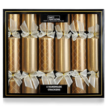 Load image into Gallery viewer, Opsis Christmas Xmas Christmas Deluxe Bronze Pave Crackers