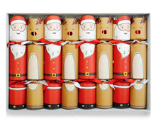 Load image into Gallery viewer, Opsis Christmas Xmas Christmas Santa and Reindeer Crackers