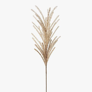 Faux Flower Pampas Grass Spray 107cm Cream