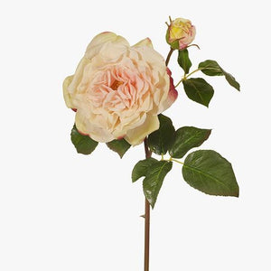 Faux Flower Rose Duchess Champagne