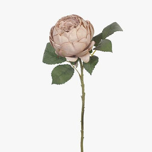 Faux Flower Rose English Antique Pink
