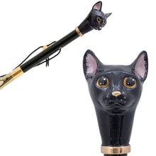 Load image into Gallery viewer, Pasotti Black Cat Shoehorn
