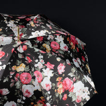 Load image into Gallery viewer, Pasotti Umbrella Flowered Parasol with Bamboo Handle