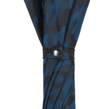 Load image into Gallery viewer, Pasotti Umbrella Pasotti Blue Camouflage Umbrella with Bamboo Handle
