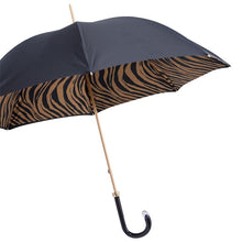 Load image into Gallery viewer, Pasotti Umbrella Pasotti Umbrella Brown Zebra with Double Cloth
