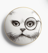 Load image into Gallery viewer, Rory Dobner General Trinket Box - Cat Monocle