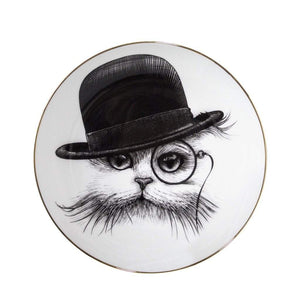 Perfect Plates: Cat in Hat - Small