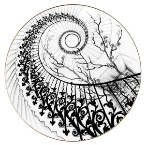 Perfect Plates: Swirling Stairs - Medium