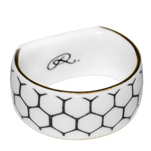 Napkin Ring: Buzzing Bee