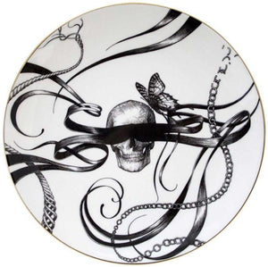 Perfect Plates - Swirly Masked Skull