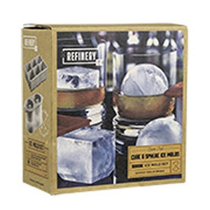 Ice Mold Cube Sphere Combo