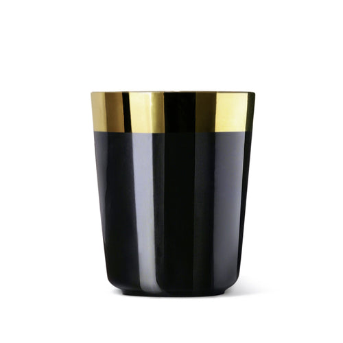 Sieger by Fürstenberg DESIRE Espresso or Vodka Cup in Noire Black