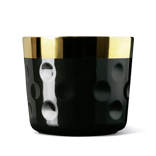 Sieger by Fürstenberg Sip of Gold Tumbler - Black Moon
