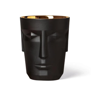 Sieger by Fürstenberg Prometheus Tumbler - Satin Black/Gold