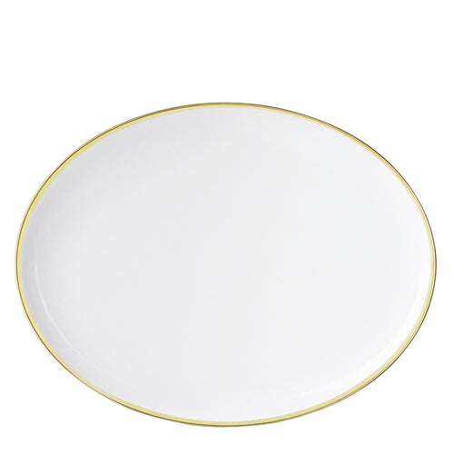 Sieger by Fürstenberg My China Oval Plate - White/Gold