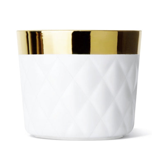 Sieger by Fürstenberg Sip of Gold Tumbler - White Cushion