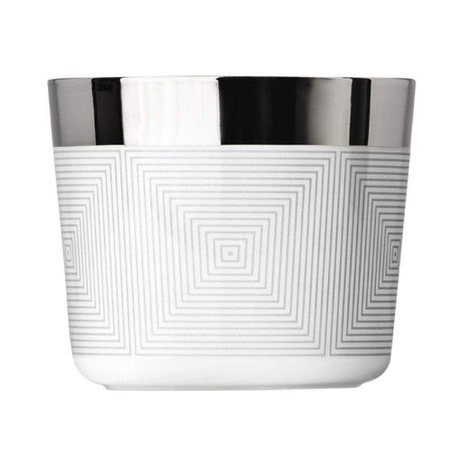 Sieger by Fürstenberg SIP OF GOLD tumbler Gretta/Vertical: Platinum