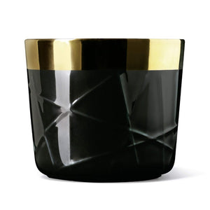 Sieger by Fürstenberg SIP OF GOLD Tumbler Woven or Rod: Black