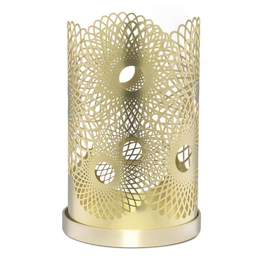 Skultuna Feather Brass Candleholder