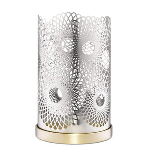 Skultuna Feather Candleholder - Silver Plated