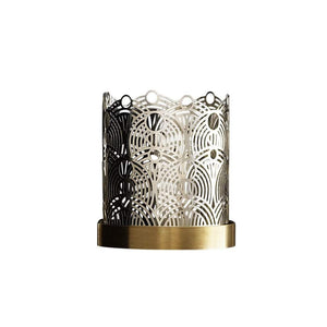Skultuna Calestial Silver Plated Candleholder - S