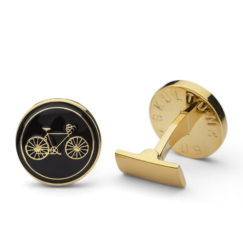Cuff Links - Themocracy - Gold/Black