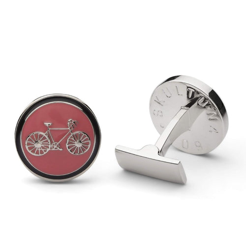 Cuff Links - Themocracy Silver - Giro edition