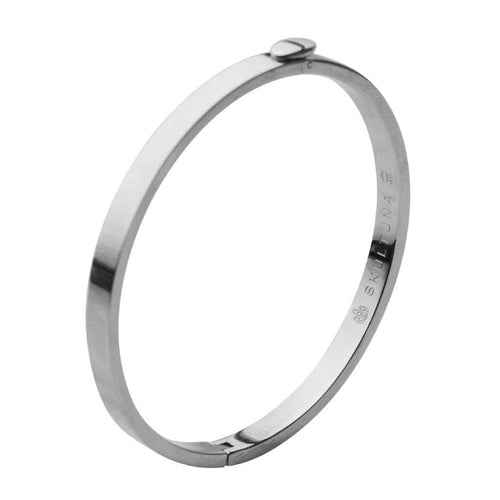Skultuna Eternal Bangle Polished Steel