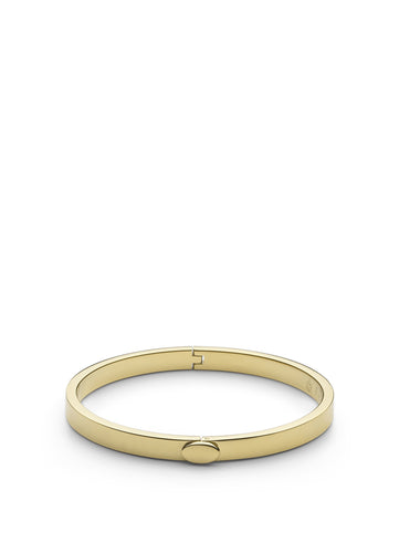 Skultuna Eternal Bangle Thin Gold Plated