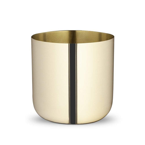Skultuna Nurture Planter in Brass: Small