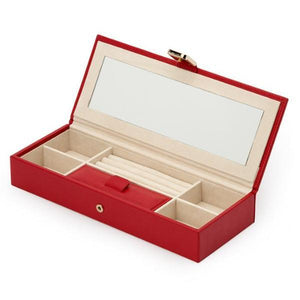 WOLF Palermo Safe Deposit Box - Red