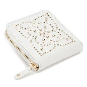 WOLF Marrakesh Leather Travel Case - Cream