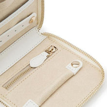 Load image into Gallery viewer, Wolf1834 Jewellery WOLF Marrakesh Leather Travel Case - Cream