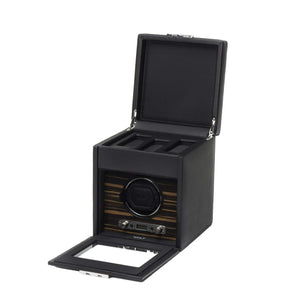 WOLF Roadstar Single Watch Winder with storage