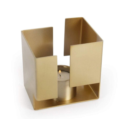 XLBoom Ras T-Light Holder Brass