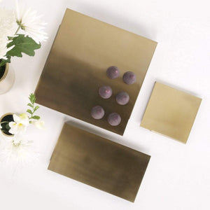 XLBoom Ras Presentation Tray set of 3 Brass