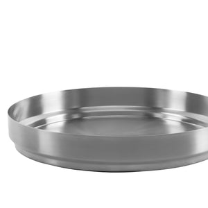 Rondo Tray Medium: Stainless Steel