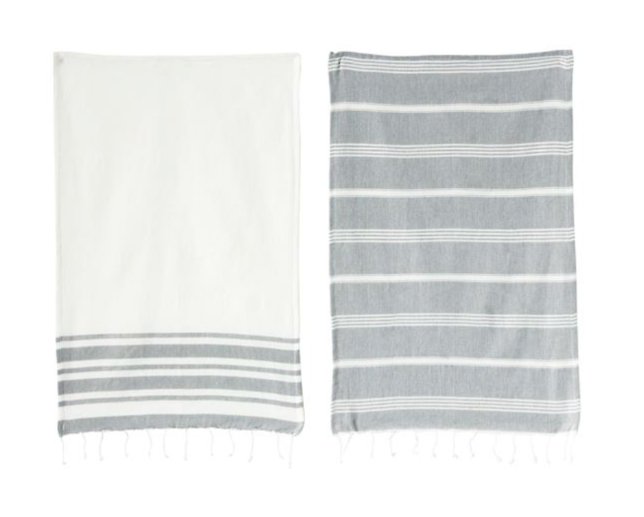 Cotton Woven Tea Towels