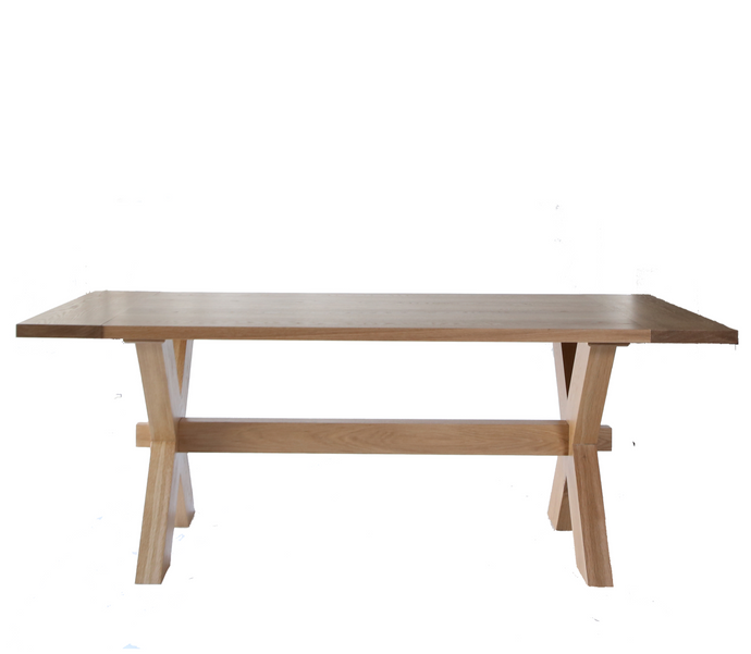 Grace X Base Dining Table