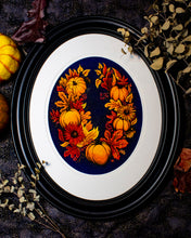 "Autumnal Wreath 11"" x 14"" Frame - LIMITED EDITION OF 7"