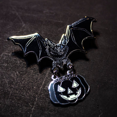 Nocturna, Bearer of Treats Enamel Pin