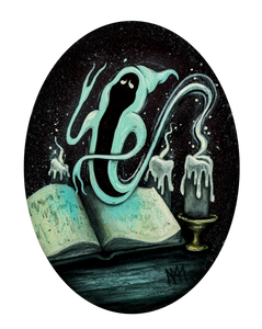 Candle Ghost Giclee Print